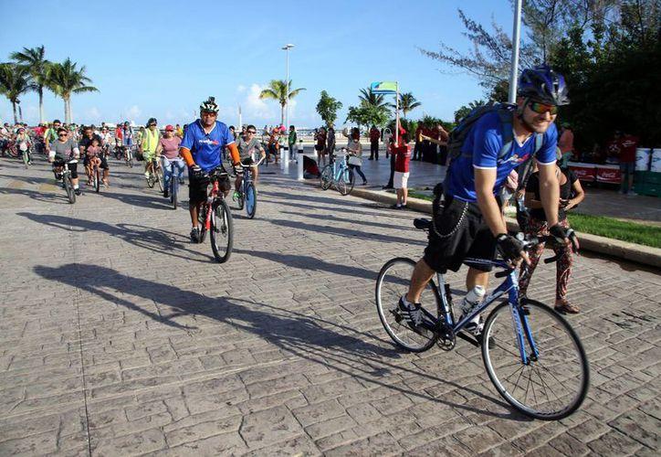Co'ox Cancún es el tercer evento que se lleva a cabo por parte del grupo Movilidad Urbana Cancún. (Archivo/SIPSE)