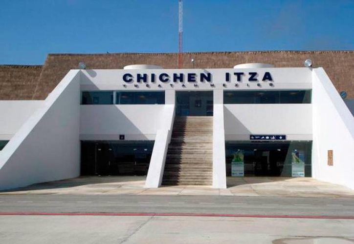 El aeropuerto de Kaua (Chichén Itzá), gracias a una concesión del Gobierno, será operado por una empresa particular: Ciclo, de capital yucateco. (Archivo/SIPSE)