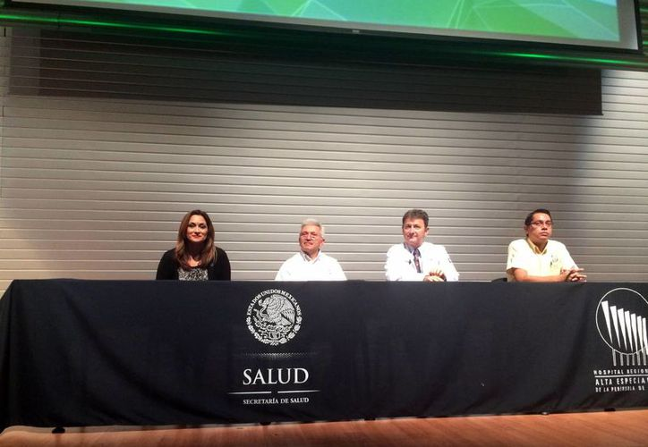 El DIF Yucatán en coordinación con la Asociación Mexicana de Diabetes en el Sureste, inauguraron ayer el Ciclo de Conferencias para la Prevención y Control de la Diabetes. (Milenio Novedades)