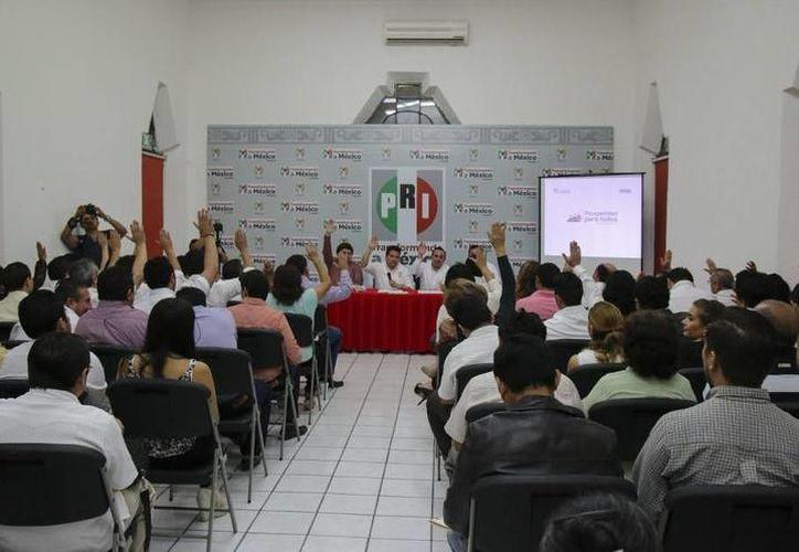 La prioridad del Partido Revolucionario Institucional PRI siempre ha sido la labor en el territorio. (SIPSE)
