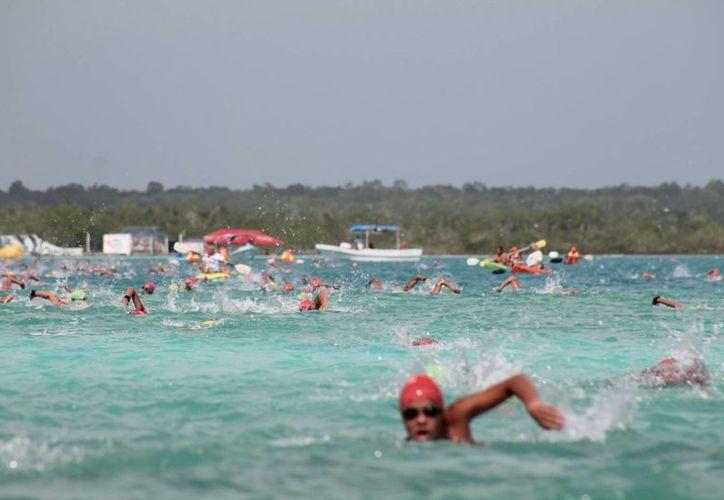 Destacó la participación de cuatro nadadores chilenos. (Carlos Horta/SIPSE)
