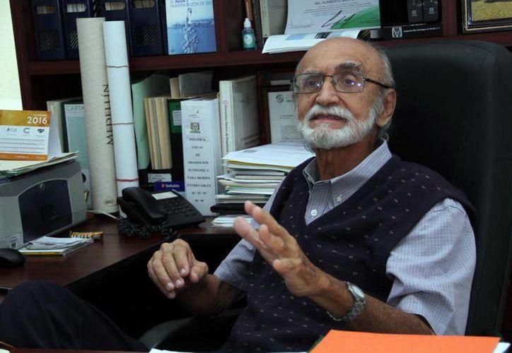 El ingeniero Humberto Sauri Duch fue uno de los primeros especialistas locales en conservación del ambiente y el agua. (Milenio Novedades)