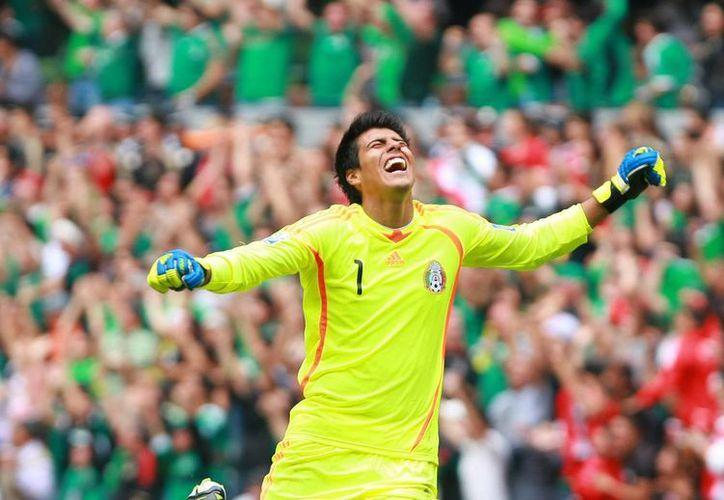 Richard Sánchez (foto) se incorporará a los Tigres, pero Enrique Palos seguirá siendo el arquero titular. (vivelohoy.com/Archivo)
