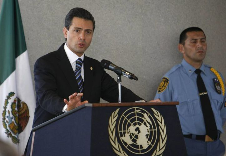 Peña Nieto señaló que las acciones del programa se van a dirigir a 7.4 millones de mexicanos de manera inicial. (Agencias)