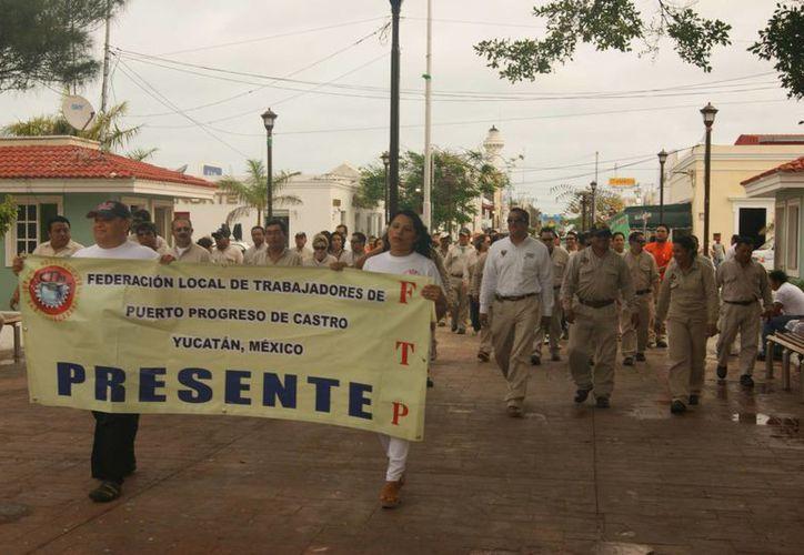 Sindicatos de Progreso piden que entre Ayuntamiento y empleados haya una relación de respeto. (Manuel Pool/SIPSE)