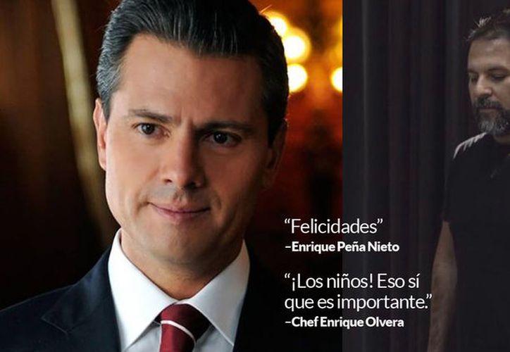 Enrique Olvera, chef reconocido en el mundo culinario a nivel internacional. (Foto: Twitter)