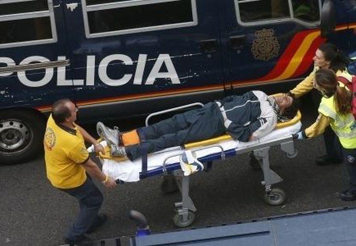 Samur (Servicios Ambulatorios de Urgencia)es la institución que brinda auxilio en caso de accidentes y desastres en Madrid. (Reuters)