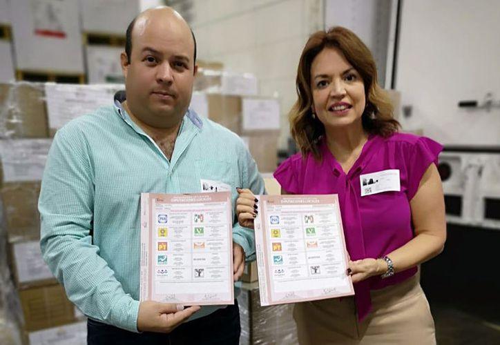 Listas las boletas que serán reguardadas en la capital yucateca. (SIPSE)