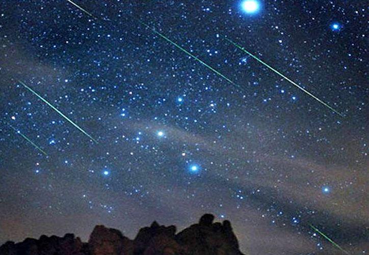 Las Eta Acuáridas reciben su nombre por el cuadrante de donde parecen provenir los bólidos celestes.  (Contexto/Internet)