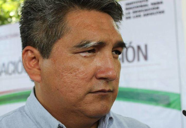 El delegado federal de la Secretaría del Trabajo y Previsión Social. (Adrián Barreto/SIPSE)