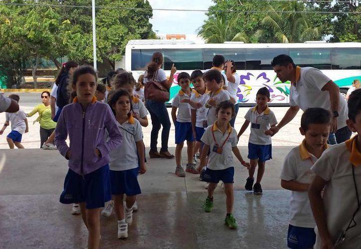 Durante febrero acudieron al recinto mil 119 alumnos de preescolar, primaria, secundaria y preparatoria. (Redacción/SIPSE)
