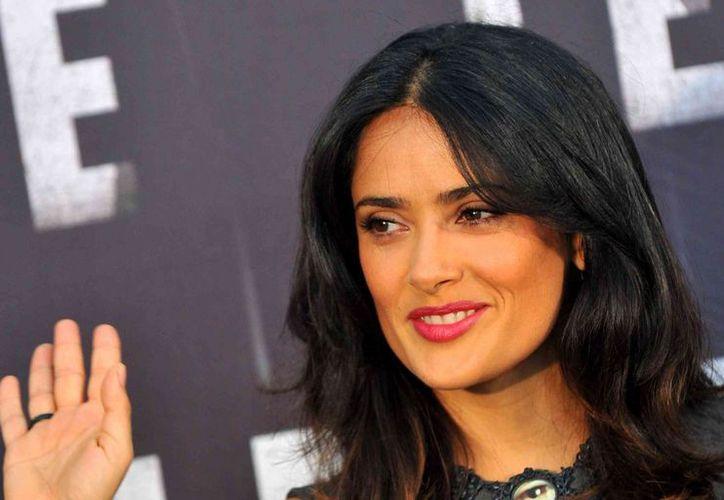 Salma produce el filme animado 'El Profeta'. (Agencias)