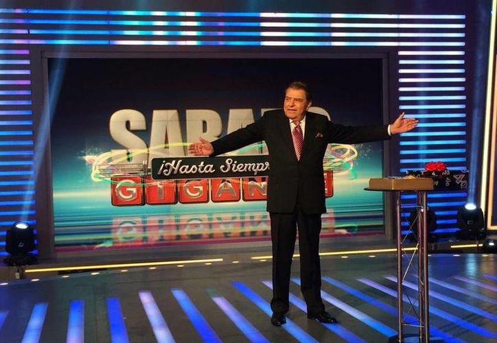 Después de 53 años al aire el programa Sábado Gigante conducido por Don Francisco llegó a su fin. (twitter/@AlbertoCiurana)