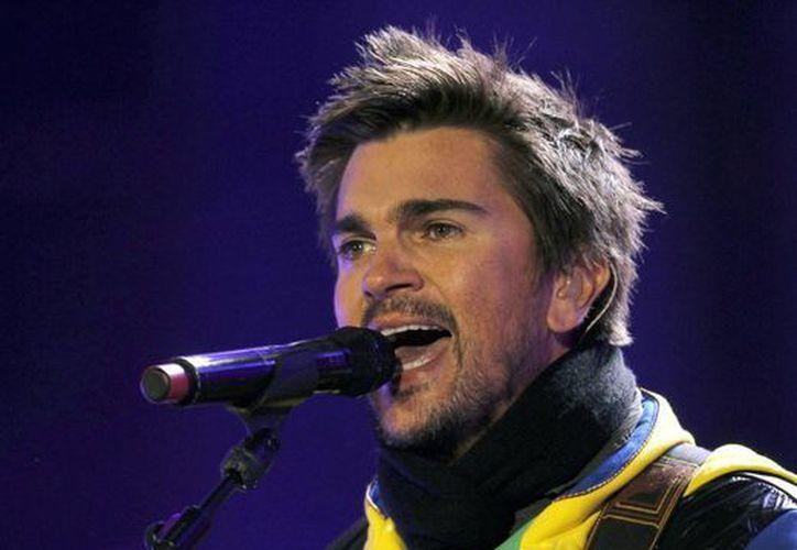 Juanes será representante del talento hispano en los Grammy. (Agencias)
