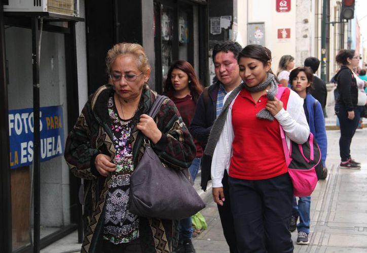 En Mérida, la temperatura mínima en este lunes inhábil fue de 17.4 grados. (Sipse)