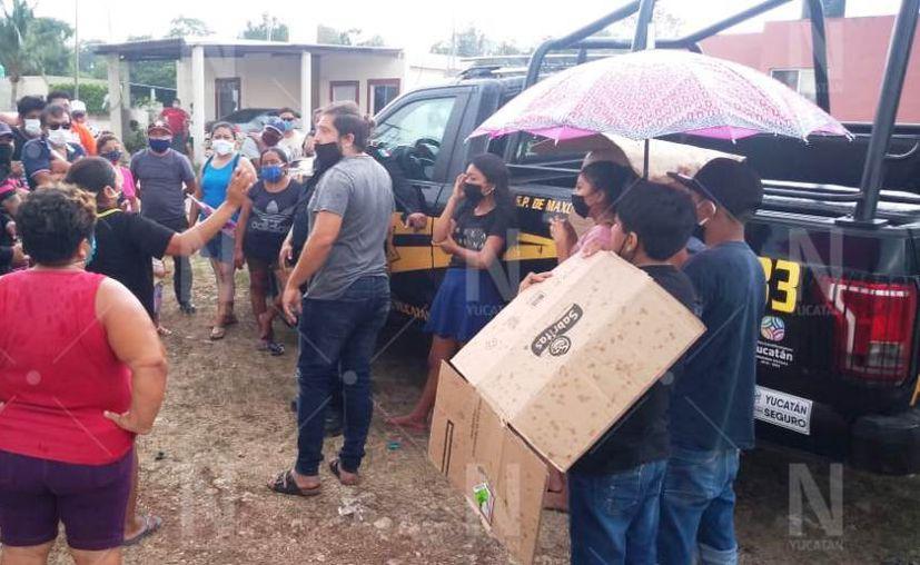 Los vecinos exigieron una pronta solución. (Novedades Yucatán)