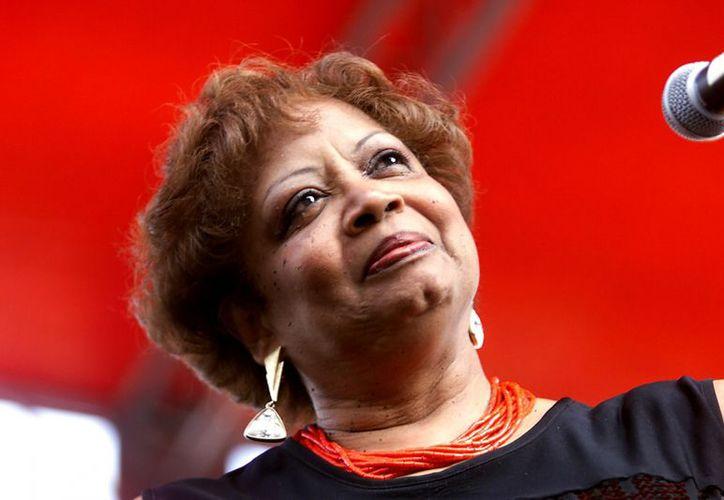 """En 1965 Fontella coescribió y grabó """"Rescue Me"""", que llegó al primer puesto en las listas de R&B. (Agencias)"""