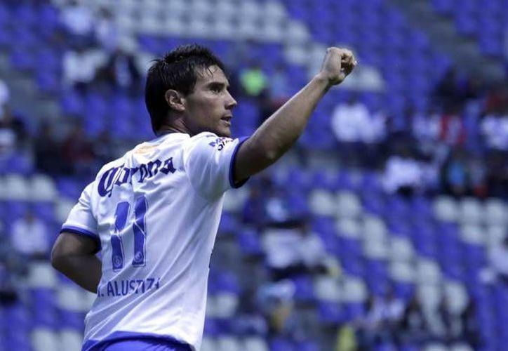 Matías Alustiza fue factor clave para la victoria poblana. (Liga MX)