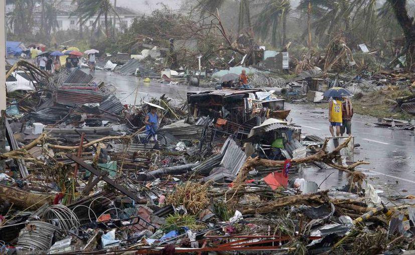 El tifón Haiyan es considerado, hata el momento, como la tormenta más mortífera que ha azotado a Filipinas. (Agencias)