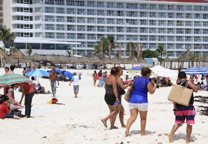 Esperan incremento en arribo de turistas centroamericanos en este destino. (Tomás Álvarez/SIPSE)