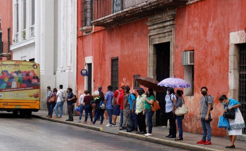 El Semáforo Estatal está en Naranja. (Novedades Yucatán)