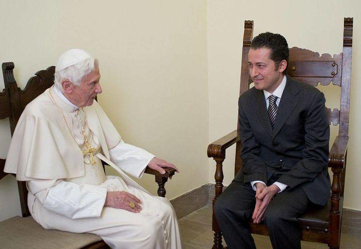 El 22 de diciembre pasado, el Papa visitó a Gabriele para otorgarle el perdón. (Archivo/Reuters)