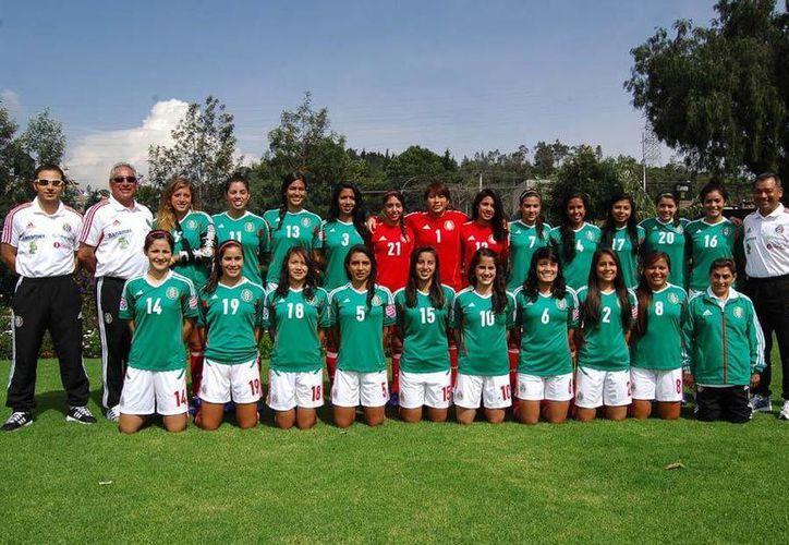 La selección mexicana de fútbol femenil debutará mañana contra la selección de Colombia (Fotografía: miseleccion.mx)