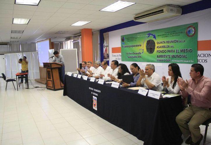 Se espera la participación de los 182 miembros que realizan acciones para disminuir los efectos del cambio climático. (Harold Alcocer/SIPSE)
