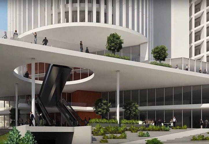 El complejo se ubicaría entre la la zona de Altabrisa y City Center, al norte de Mérida. (Cortesía)