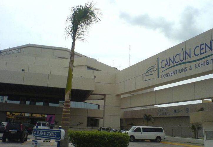 Cancún Center es uno de los recintos que alberga diversos congresos y convenciones. (Foto de Contexto/Internet)