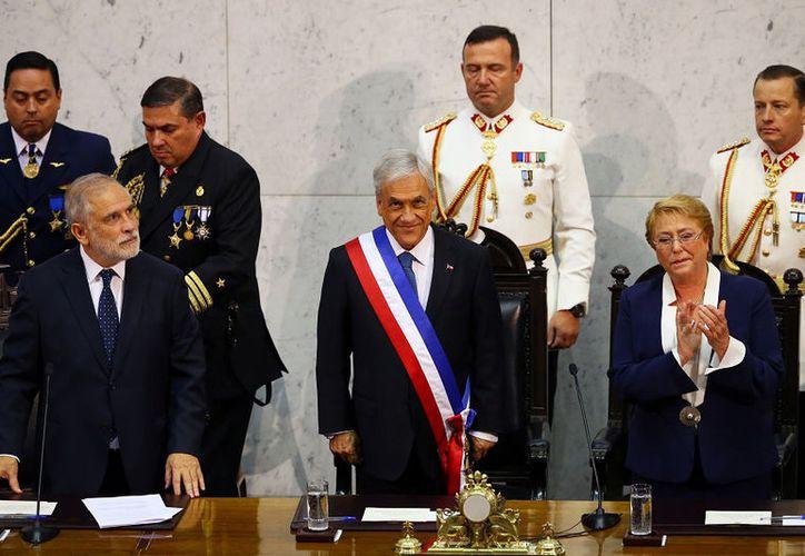 El multimillonario conservador Sebastián Piñera asume la presidencia de Chile (Foto: Reuters)