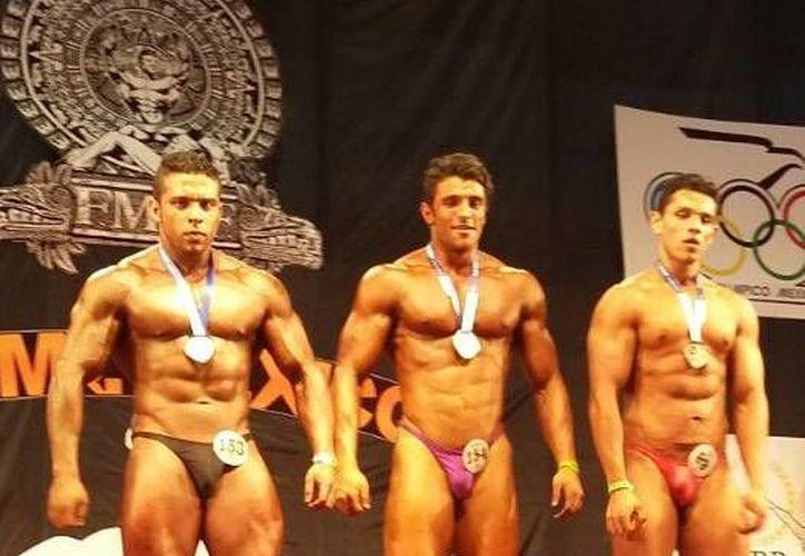 Los demás medallistas del Caribe mexicano fueron Gabriel Candiani, Fernando Ruiz, Badia Tuma, Nicolás Ayala y Fernando Gándara. (Raúl Caballero/SIPSE)