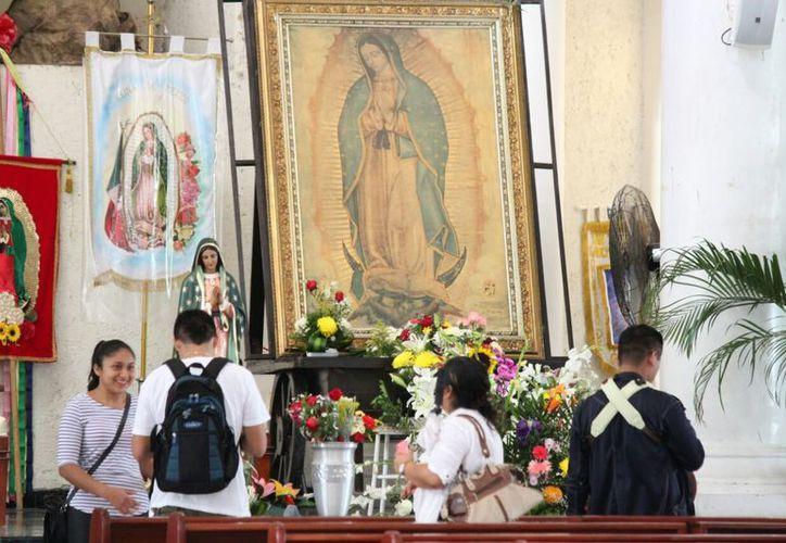 La parroquia Nuestra Señora de Guadalupe recibirá a aproximadamente cinco mil personas. (Octavio Martínez/SIPSE)