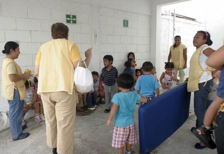 En Othón P. Blanco existen 42 estancias infantiles: 32 pertenecen a la Sedesol y 10 son particulares. (Harold Alcocer/SIPSE)