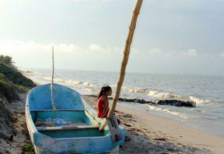 La contaminación de playas es uno de los problemas ambientales más graves en el estado. (Milenio Novedades)