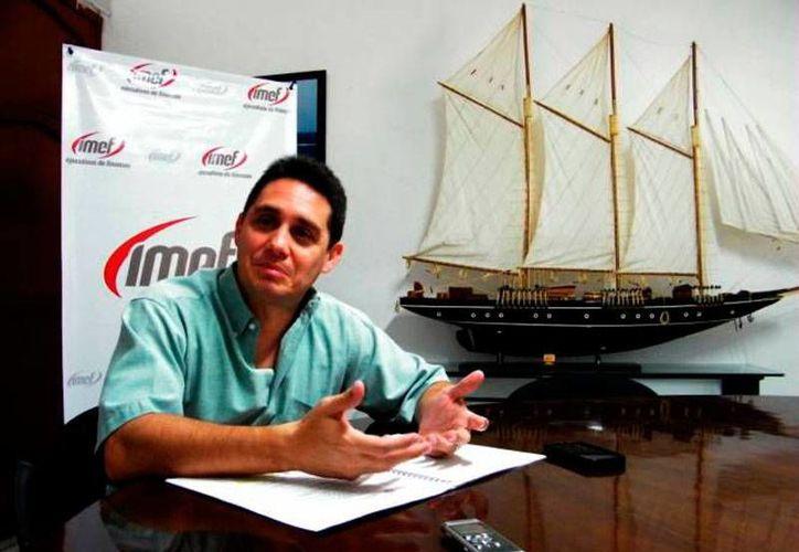 Álvaro de la Garza R. de la Gala, presidente de Index, dijo que se actualizarán el padrón de empresas certificadas ante el SAT, para que mantengan la exención del IVA en importaciones. (Archivo/SIPSE)