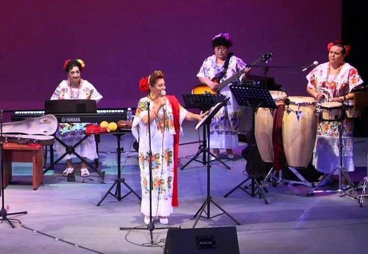 Las Yucatecas interpretarán grandes éxitos al ritmo del bolero, danzón y hasta bossa nova.(Milenio Novedades)