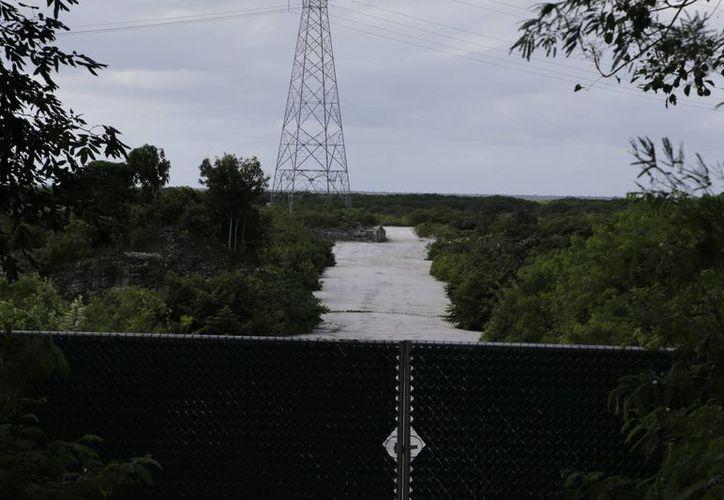 """El predio """"El Tucán"""" está ubicado en el kilómetro 3.31 de la carretera Cancún-Chetumal. (Israel Leal/SIPSE)"""