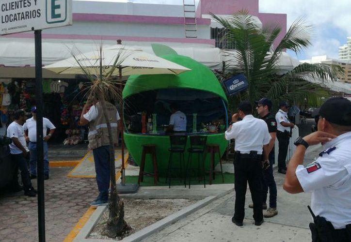 """""""Mainz Cueens"""", ubicado a un costado del mercado Coral Negro, fue cerrado por las autoridades. (Foto: Redacción)"""