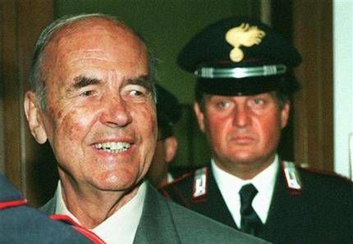 El ex capitán nazi Erich Priebke falleció a los 100 años de edad en Roma. (Agencias)