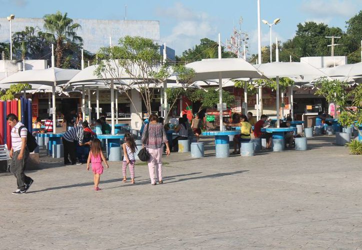 El Parque de Las Palapas albergará las múltiples actividades dirigidas a toda la familia. (Hugo Zúñiga/SIPSE)