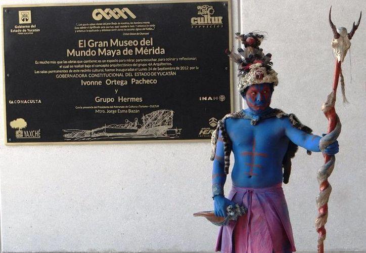 La ceremonia conmemorativa se realizó en el Gran Museo del Mundo Maya de Mérida. (Cortesía)