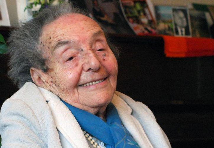 Alice Herz-Sommer protagoniza uno de los documentales que nominados al Oscar. Era una pianista de profesión y estuvo en el campo de concentración de Terezin. (jta.org)