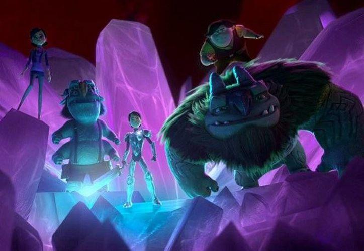 La serie animada de Guillermo del Toro será estrenada este viernes, a través de la plataforma Netflix.(Foto tomada de Dreamworks Animation)