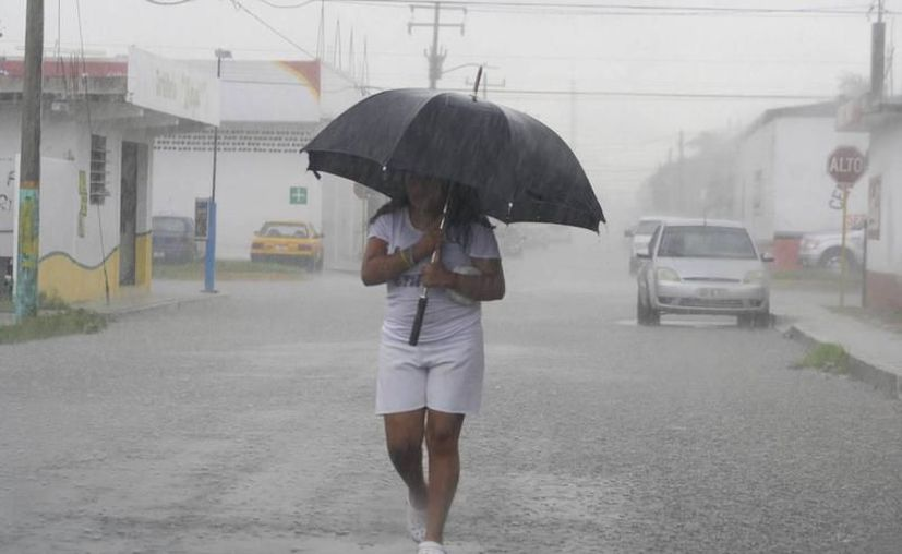 Habrá lluvias por la entrada de aire marítimo tropical hacia la Península de Yucatán. (Milenio Novedades)