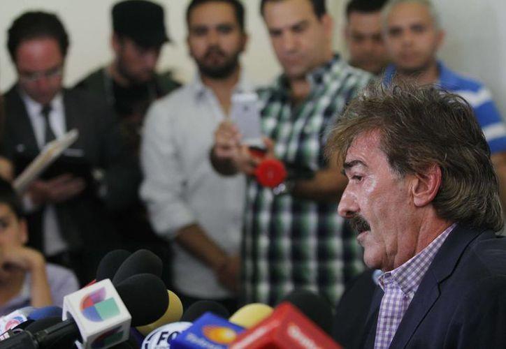 Ricardo La Volpe reiteró que en Chivas sólo escucharon a Belén Coronado, la podóloga que lo acusó de acoso sexual. (Notimex/Foto de archivo)
