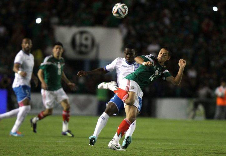 México venció el jueves pasado en Chiapas a Honduras 2-0. (Foto: Notimex)