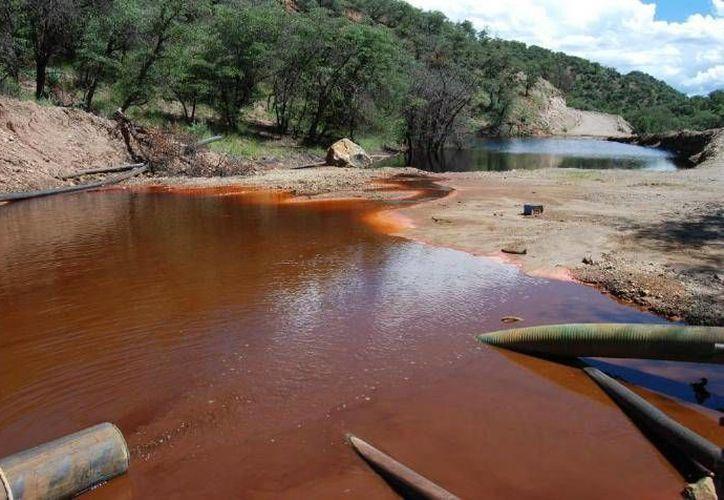 El derrame tóxico por parte de la minera de Grupo México ocurrió en los ríos Sonora y Bacanuchi hace seis meses. (Foto: www.elimparcial.com)
