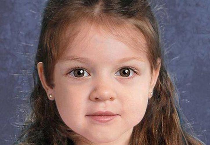 El Centro Nacional de Niños Desaparecidos y Explotados divulgó esta imagen de como pudo verse en vida la pequeña 'Baby Doe'. (Twitter.com/@MassStatePolice)