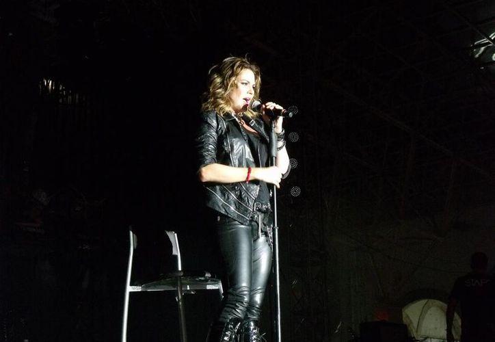 La cantante regresa a Mérida, una de sus plazas preferidas por el cariño del público. (Milenio Novedades)